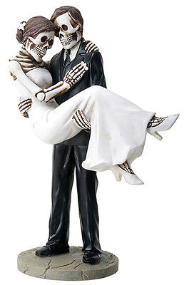 NEW! Day of the Dead Wedding Couple Groom Carrying Bride DOD Statue Figure 8065 - Day Of The Dead Bride