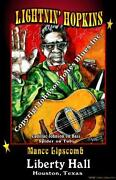 Lightnin Hopkins Poster
