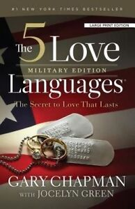 The 5 Love Languages Military Edition Secret Love That L by Chapman Gary