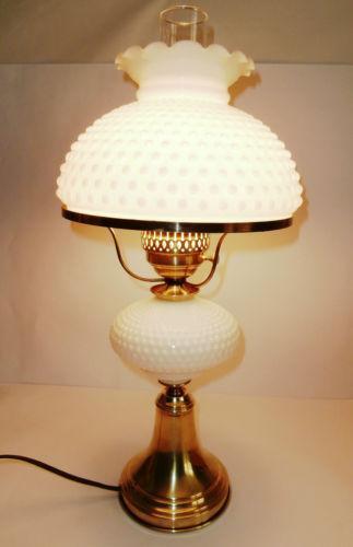 Milk glass lamp ebay greentooth Gallery