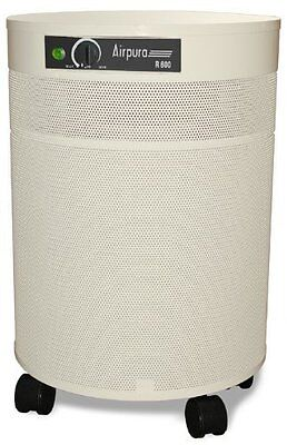 Airpura All Purpose Air Purifier - Hepa Filter - 5yr/10yr Warranty - R600-Cream