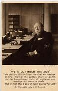 Winston Churchill Postcards