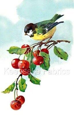 Crazy Bird (Bird Cherrie Branches Crazy Quilt Block Multi Sizes FrEE ShiPPinG WoRld)
