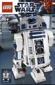 Lego Star Wars UCS r2d2 10225 unused unbuilt.