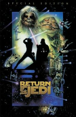 STAR WARS RETURN OF THE JEDI 27x40 MOVIE POSTER D/S SPECIAL EDITION ORIGINAL