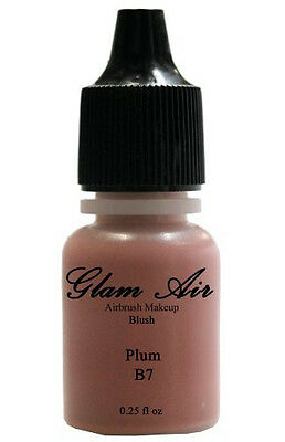 Glam Air Airbrush Blush Makeup B7 Plum Blush Water-based Makeup 0.25oz Bottle Face