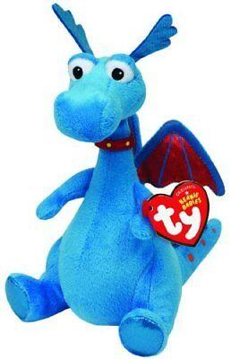 Ty Beanie Baby Boos 6  Stuffy The Dragon Stuffed Animal Plush New W  Heart Tags