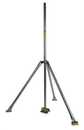 Easy Up Tri-Mount 3ft High Tripod w/5ft Double Footed Mast (EZTRI-5)