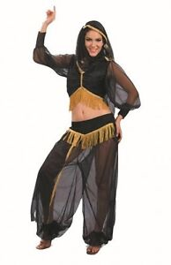 Ladies Fancy Dress Outfit Costume Harem Girl Arab