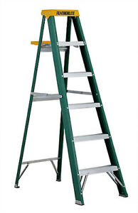 NEW 5 Foot Featherlite ladder