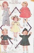 Shirley Temple Doll Clothes Patterns