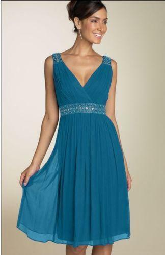 Teal Chiffon Bridesmaid Dresses Ebay