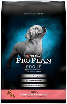 Purina Pro Plan Focus Puppy Dry Dog Food Lamb & Rice Formula