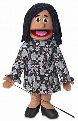 Silly Puppets Maria (Hispanic) 25 inch Full Body Puppet