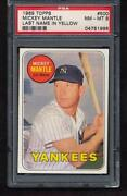 1969 Topps Mickey Mantle 500
