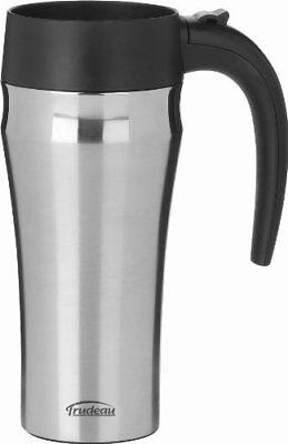 Trudeau Travel Mug (Trudeau Maison Journey Travel Mug, 16 oz, Stainless Steel FREE2DAYSHIP TAXFREE)