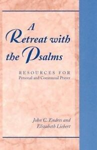 Endres-Retreat With The Psalms, A  BOOK NEW