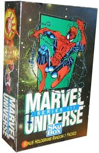 MARVEL UNIVERSE .... SERIES 3 .... 1992 sealed box (comic cards)