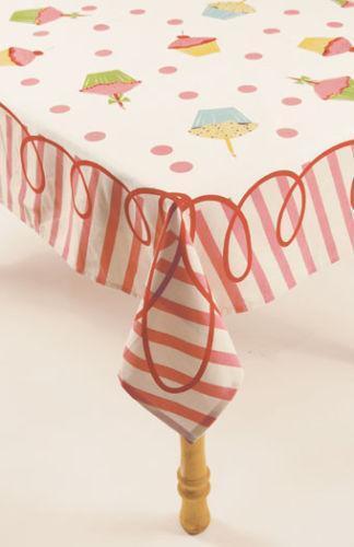 Cupcake Tablecloth Ebay
