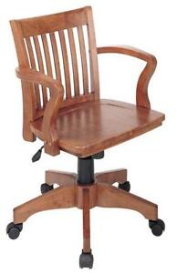 wooden swivel desk chair. Wood Swivel Desk Chair Wooden