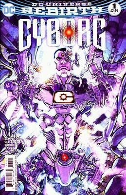 CYBORG #1 VARIANT COVER DC COMIC BOOK REBIRTH NEW
