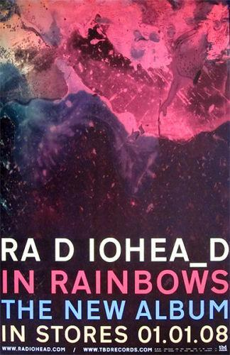 Radiohead Poster Ebay