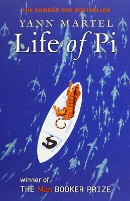 Life of Pi by Martel, Yann Paperback Book The Cheap Fast Free Post