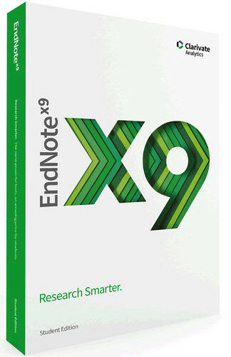 New! EndNote X9 (Windows)