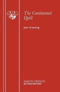 Greening, Joan-Continental Quilt  BOOK NEW