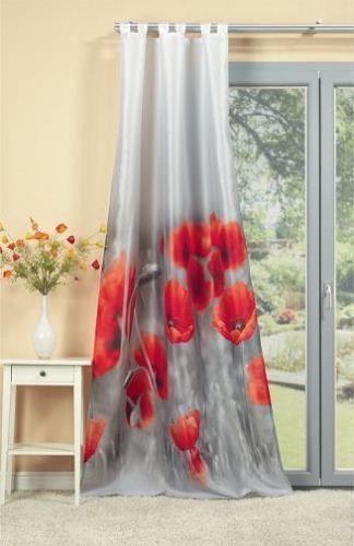 gardine fotodruck ebay. Black Bedroom Furniture Sets. Home Design Ideas