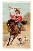 Victorian Trade Cards Horses