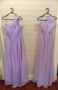 2x Chiffon Lilac Dresses Emmaville Glen Innes Area Preview
