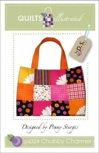 CHUBBY CHARMER~Large TOTE Project~BIG BAG! Charm Pack Patter