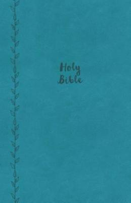 Kjv  Value Thinline Bible  Compact  Imitation Leather  Blue  Red Letter Edition
