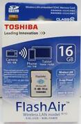 Toshiba 16GB SDHC Class 10