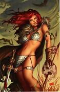 Red Sonja Art