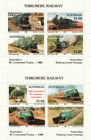 Trains, Railroads Australian Transport & Space Stamps