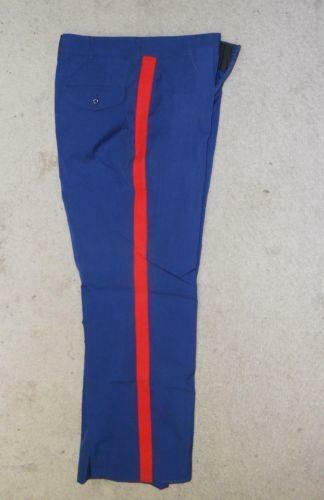 Marine Dress Blues White Pants