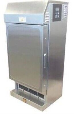 Prince Castle Hot Pie Merchandiser Dispenser Cabinet W Forced Air Heating