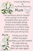 Grave Memorial Mum