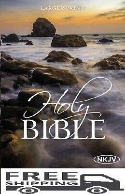 NKJV Holy Bible, Larger Print (Bible Nkjv) Extra Large Letters GREAT VALUE SALE