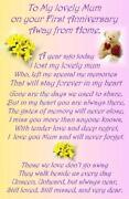 Grave Cards Mum