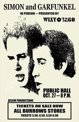 Simon And Garfunkel Poster Ebay
