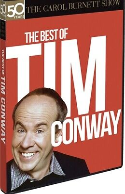 THE BEST OF TIM CONWAY New Sealed DVD 4 Episodes The Carol Burnett Show 50 (Best Of Carol Burnett)
