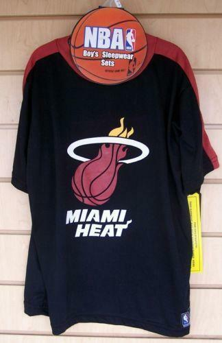 Miami Heat Pajamas Basketball Nba Ebay