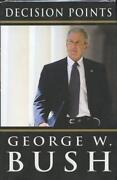 George w Bush Signed Book