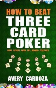 USED (LN) How to Beat Three Card Poker by Avery Cardoza