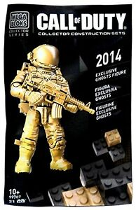 Mega Bloks Call of Duty 2014 Exclusive Ghosts Figure 99707 21PCS