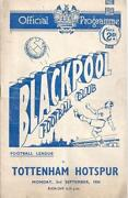 Blackpool Football Programmes