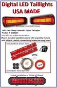 1967 Camaro Tail Lights